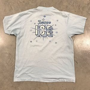 Vintage 80s Leisure Ice Hanes Shirt Large